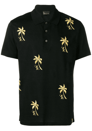 Billionaire Palm polo shirt - Black