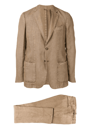 Dell'oglio two-piece dinner suit - Neutrals