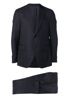 Dell'oglio two-piece suit set - Blue