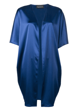 Gianluca Capannolo flowing cover-up - Blue