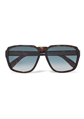 Givenchy - Oversized Square-frame Tortoiseshell Acetate Sunglasses - one size