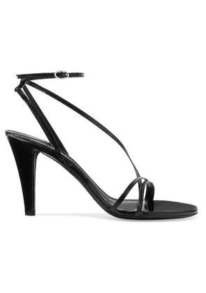 Isabel Marant - Arora Leather Sandals - Black