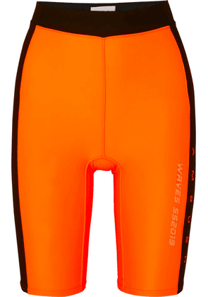 AMBUSH® - Waves Satin-jersey Shorts - Orange