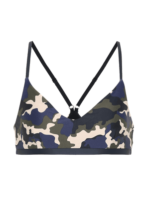 French Camo Zoe sports bra