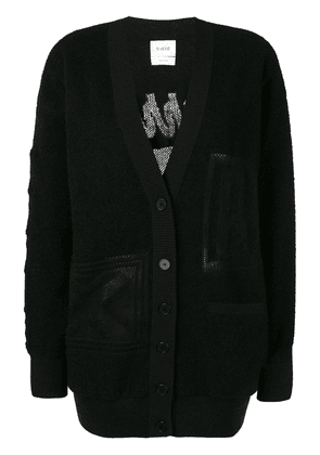 Barrie classic fitted cardigan - Black