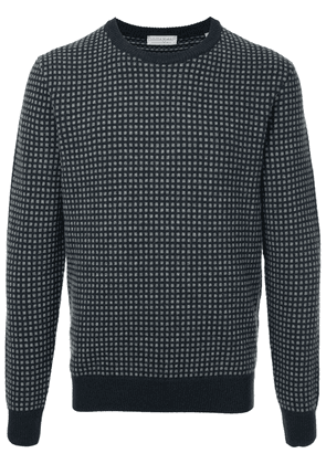 Gieves & Hawkes patterned sweater - Blue