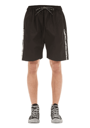 Hannon Cotton Shorts W/ Side Bands