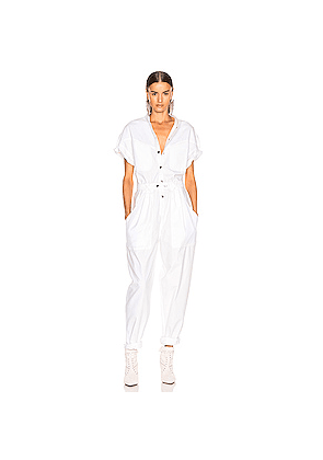Isabel Marant Tundra Overall in White