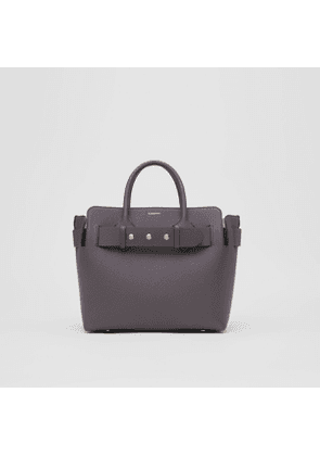 Burberry The Small Leather Triple Stud Belt Bag, Grey