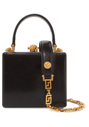 Versace - Leather Tote - Black