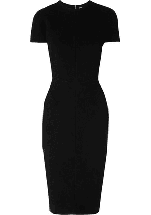 Victoria Beckham - Crepe Midi Dress - Black