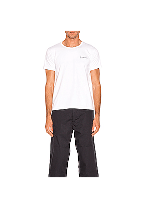 JACQUEMUS Logo Tee in White