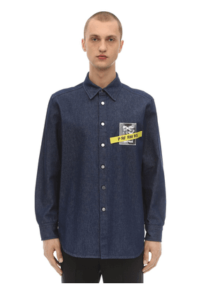 Carry Over Denim Shirt W/ Tape And Patch
