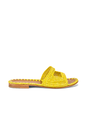 Carrie Forbes Vide Sandal in Yellow. Size 37,38,39,40.