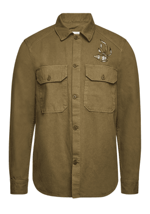 Closed Embroidered Cotton Shirt