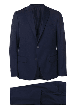 Caruso single breasted suit - Blue