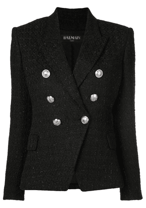 Balmain tweed blazer - Black