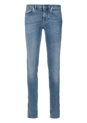 Givenchy star panel skinny jeans - Blue