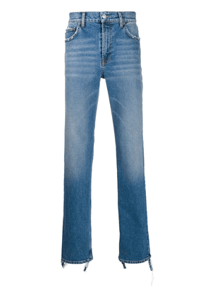 Balenciaga fitted five pocket jeans - Blue