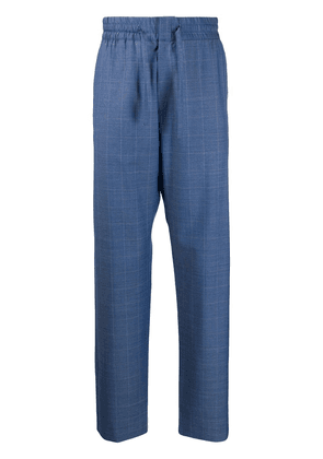 Band Of Outsiders formal drawstring trousers - Blue