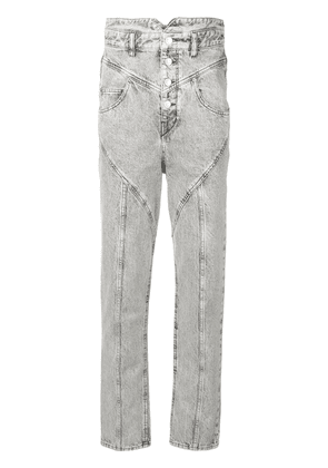 Isabel Marant high waisted jeans - Grey