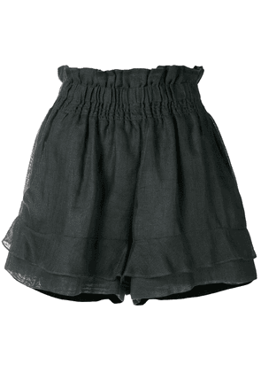 Isabel Marant Griddy shorts - Black