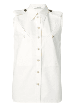 Givenchy button-detailed shirt - White