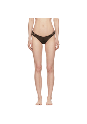 I.D. Sarrieri Black Lace Briefs