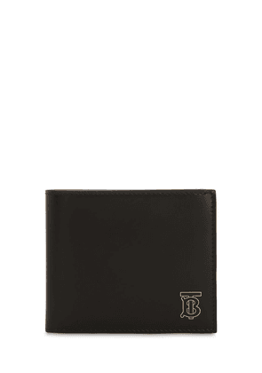 Logo Leather Billfold Wallet