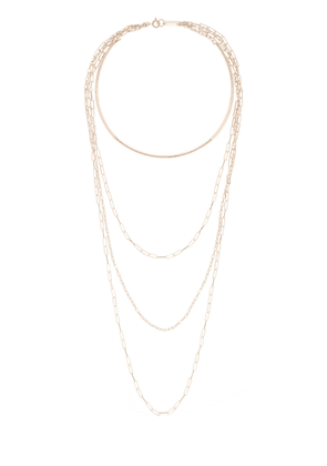 Jane Long Multi Layer Chain Necklace