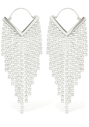 Freak Out Crystal Cascade Earrings
