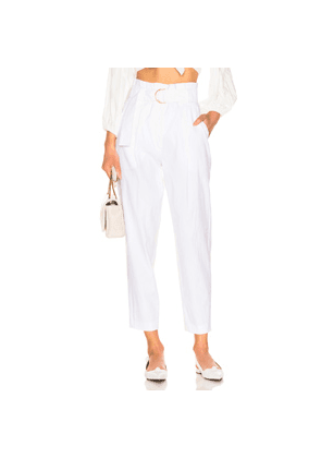A.L.C. Diego Pant in White