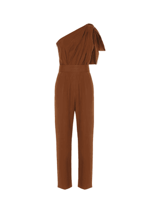 Avola cotton poplin jumpsuit