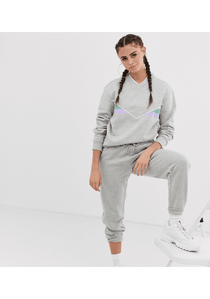 ac373194d03b Fila oversized tracksuit bottoms with neon piping co-ord