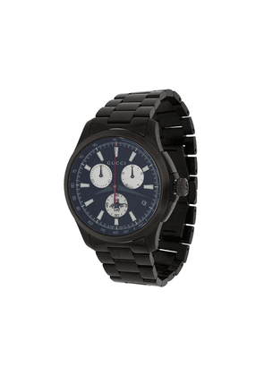 Gucci G Chrono Collection PVD watch - Black