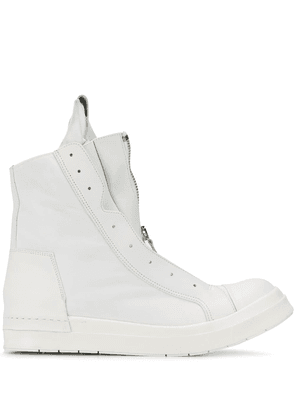 Cinzia Araia double zip sneakers - White