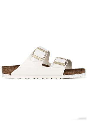 Birkenstock buckled sandals - White
