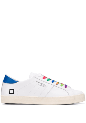 D.A.T.E. contrast lace sneakers - White