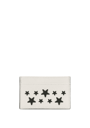 Jimmy Choo Dean card case - White