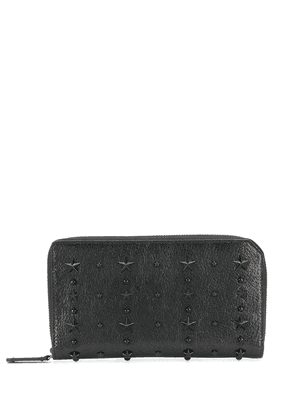 Jimmy Choo Carnaby zipped wallet - Black