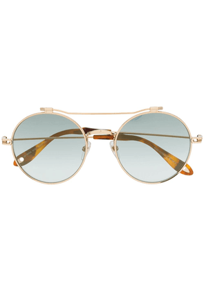 38d76a4ce8812 Givenchy Eyewear round frame sunglasses - Gold