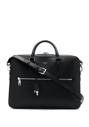 Dolce & Gabbana zipped briefcase - Black