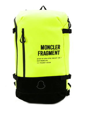 Moncler shell backpack - Yellow