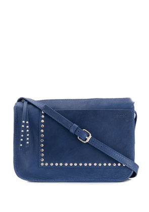 Cotélac stud cross body bag - Blue