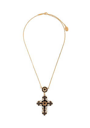 Dolce & Gabbana cross pendant necklace - Metallic