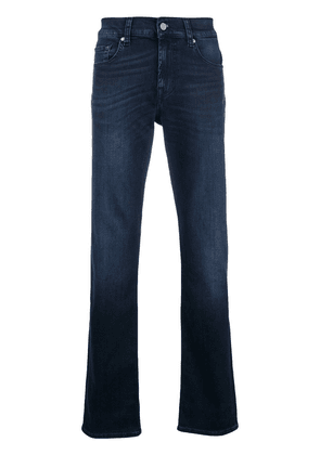 7 For All Mankind luxe performance straight leg jeans - Blue