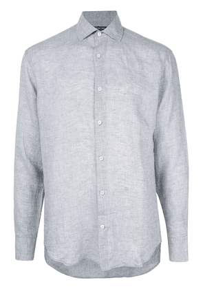 Frescobol Carioca long-sleeve fitted shirt - Grey