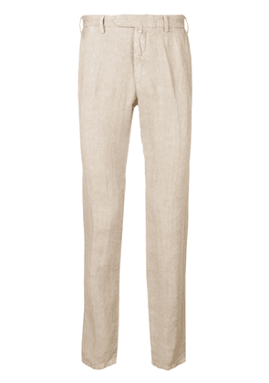 Borrelli classic chino trousers - Neutrals