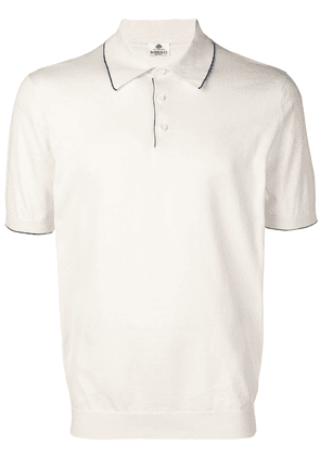 Borrelli classic polo shirt - White