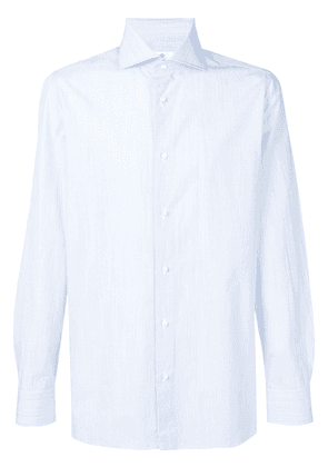 Borrelli striped button down shirt - Blue